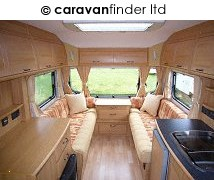 Used Avondale Argente 480 2008 touring caravan Image