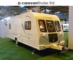 Used Bailey Olympus 525 2011 touring caravan Image