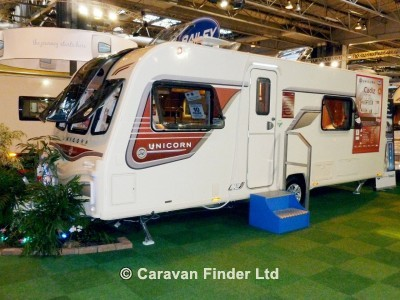 New 2013 Bailey Unicorn Cadiz S2 touring caravan Main Image