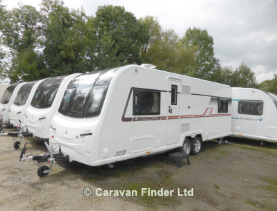 New Bailey Unicorn Segovia 2019 touring caravan Image