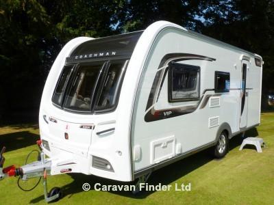 Used Coachman VIP 520 2014 touring caravan Image