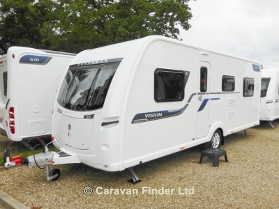 Used Coachman Vision 570 DESIGN EDITION 2016 touring caravan Image