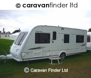 Elddis Odyssey 544 2009 caravan
