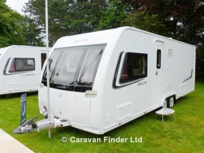 Used Lunar Delta TI 2013 touring caravan Image