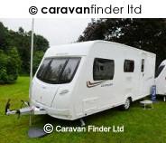 Lunar Quasar 524 Ardingly Club 2013 caravan