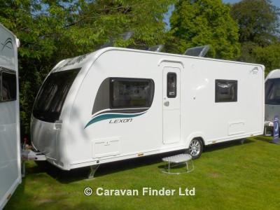 Used Lunar Lexon 540 2014 touring caravan Image