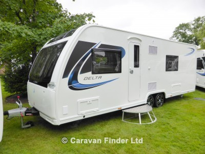 New Lunar Delta TS 2018 touring caravan Image