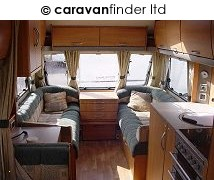 Used Swift Accord 570 2006 touring caravan Image