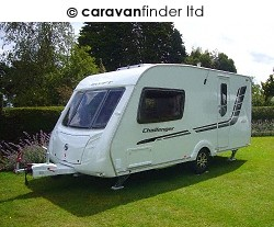 Used Swift Challenger 480 2010 touring caravan Image