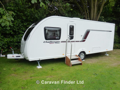 Used Swift Challenger Sport 584 2014 touring caravan Image