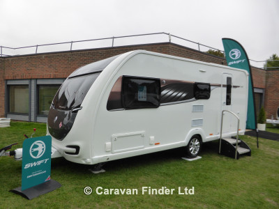 New Swift Elegance 530 2019 touring caravan Image