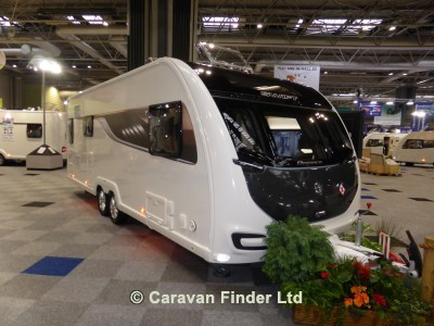 Used Swift Elegance Grande 655 2019 touring caravan Image