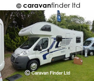 Swift Escape 696 2012 blue cab 2012 motorhome
